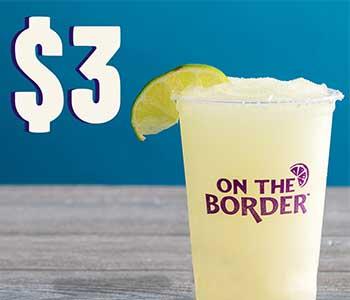 $3 margaritas