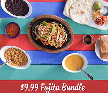 $9.99 Fajita Bundle