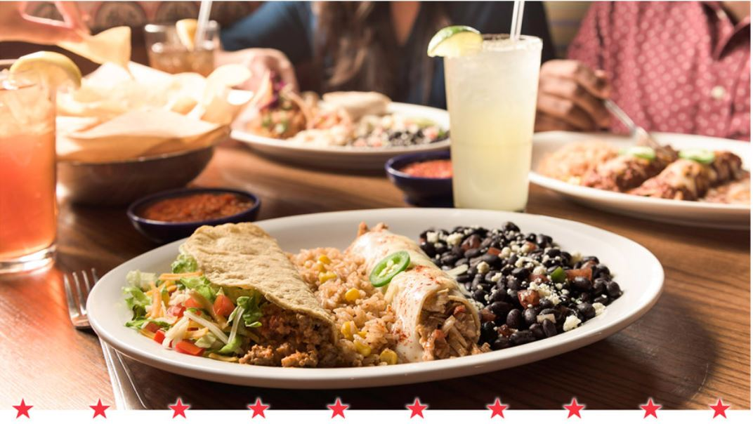 veterans day special free combo meal on the border mexican grill